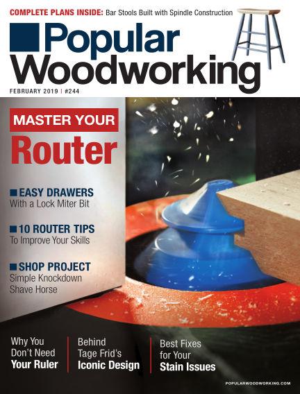 Popular Woodworking January 01, 2019 00:00