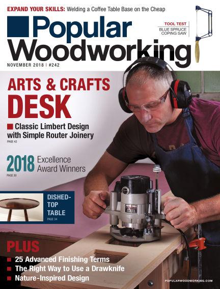 Popular Woodworking October 09, 2018 00:00