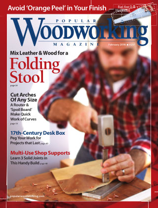 Popular Woodworking February 2018