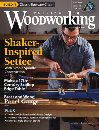 Popular Woodworking August 2018