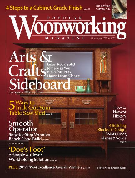 Popular Woodworking October 10, 2017 00:00