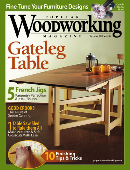 Popular Woodworking August 15, 2017 00:00