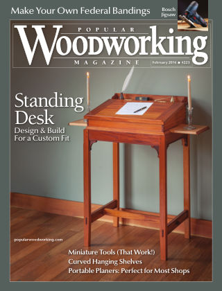 Popular Woodworking February 2016