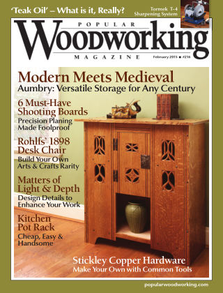 Popular Woodworking February 2015