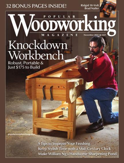 Popular Woodworking October 13, 2015 00:00