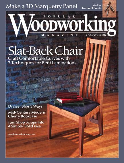 Popular Woodworking August 18, 2015 00:00