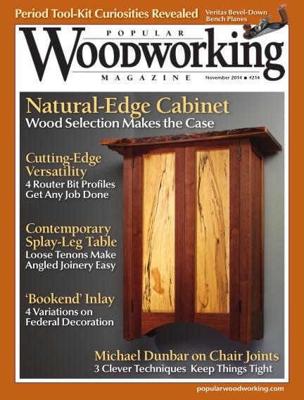 Popular Woodworking October 14, 2014 00:00