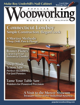Popular Woodworking February 2014