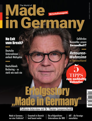 The World of Made in Germany 1/2020