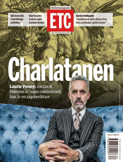 ETC (Inga nya utgåvor) November 16, 2018 00:00