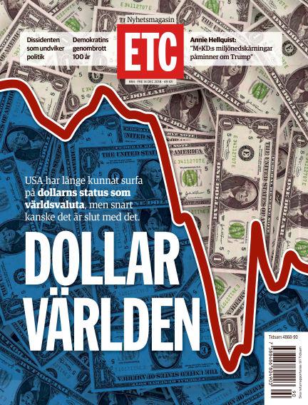 ETC (Inga nya utgåvor) December 14, 2018 00:00
