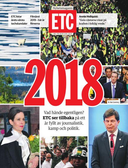 ETC (Inga nya utgåvor) December 28, 2018 00:00