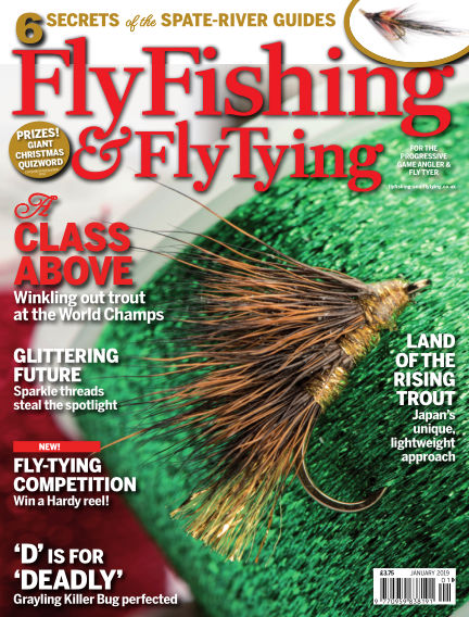Fly Fishing and Fly Tying December 07, 2018 00:00