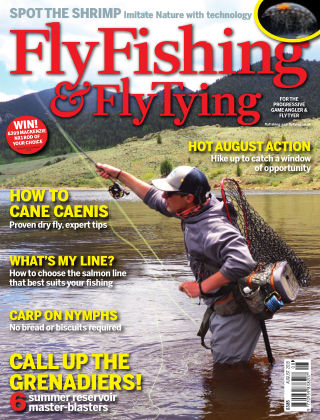 Fly Fishing and Fly Tying August