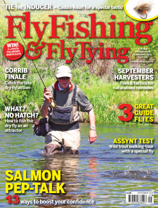 Fly Fishing and Fly Tying September