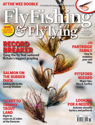 Fly Fishing and Fly Tying November