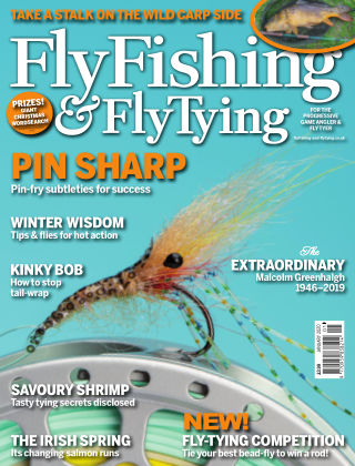 Fly Fishing and Fly Tying January
