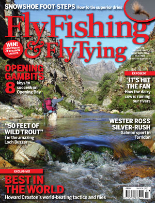 Fly Fishing and Fly Tying March