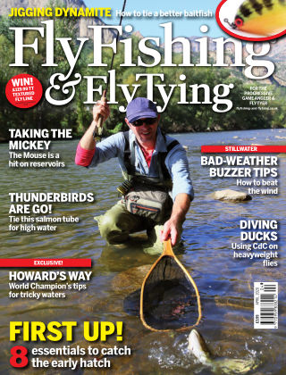Fly Fishing and Fly Tying April