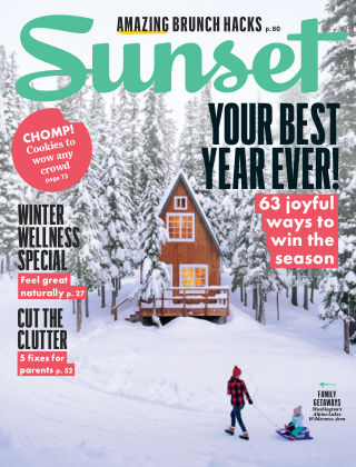 Sunset Magazine Dec-Jan 2019