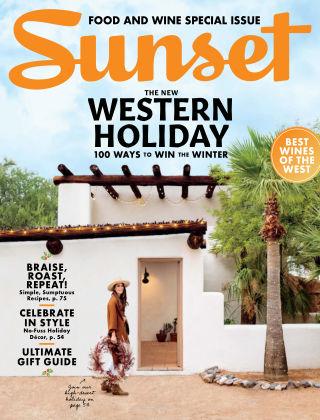 Sunset Magazine Nov-Dec 2019