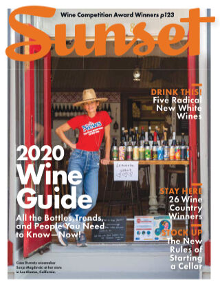 Sunset Magazine Wine Guide 2020