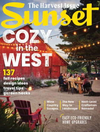 Sunset Magazine Harvest Issue 2021
