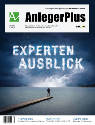 AnlegerPlus 01/2019