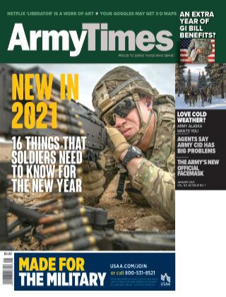 Army Times January 2021