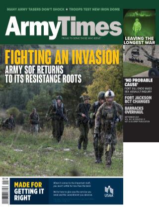 Army Times SEPTEMBER 2021