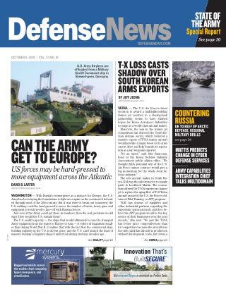 Defense News October 08 2018