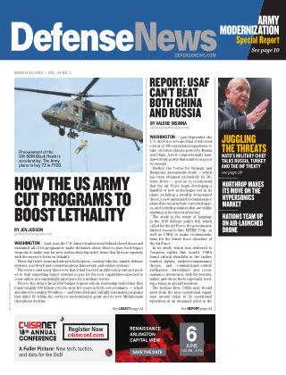 Defense News MAR 25
