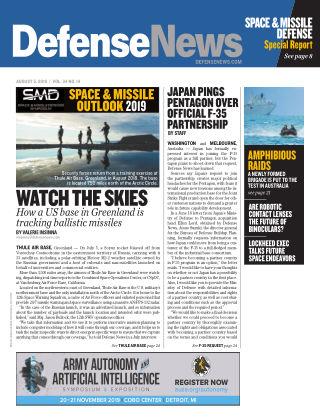 Defense News AUG 05