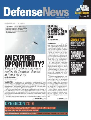Defense News Nov 11 2019