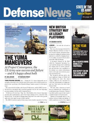 Defense News October 2020