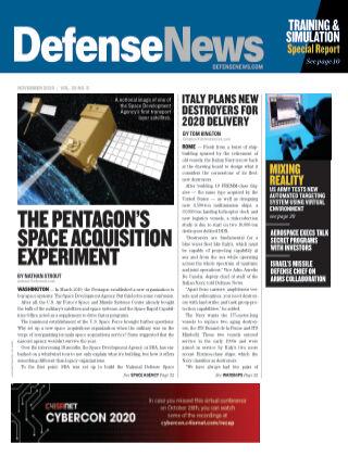 Defense News November 2020