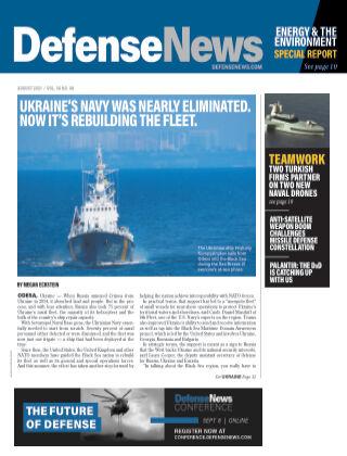 Defense News AUGUST 2021