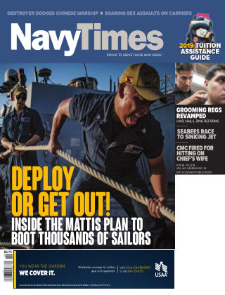 Navy Times October 15 2018