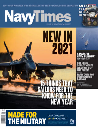 Navy Times January 2021