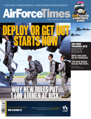 Air Force Times October 15 2018