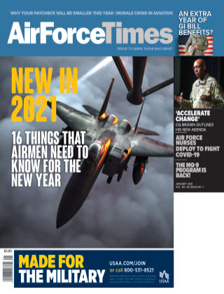 Air Force Times January 2021