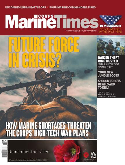 Marine Corps Times May 20, 2019 00:00