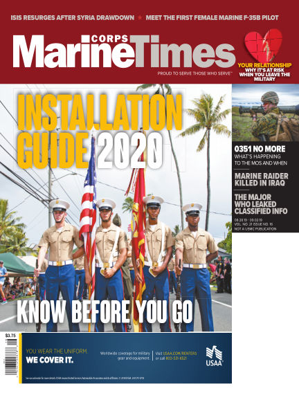 Marine Corps Times August 19, 2019 00:00
