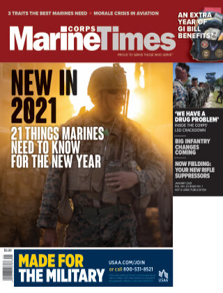 Marine Corps Times January 2021