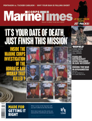 Marine Corps Times April 2021