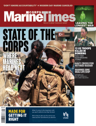 Marine Corps Times SEPTEMBER 2021