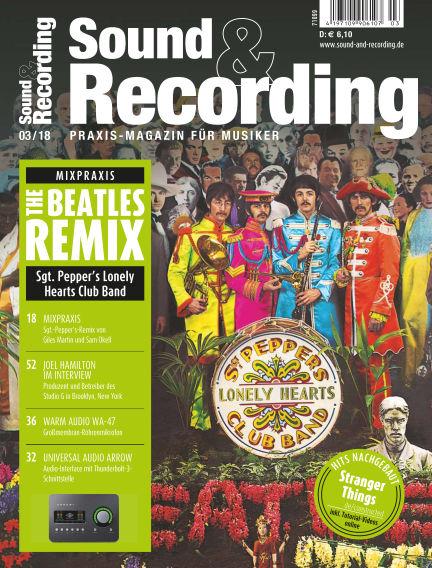 Sound & Recording March 02, 2018 00:00