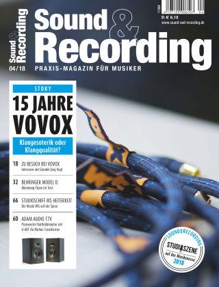 Sound & Recording 04/2018