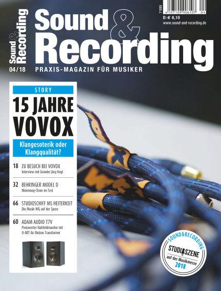 Sound & Recording April 06, 2018 00:00