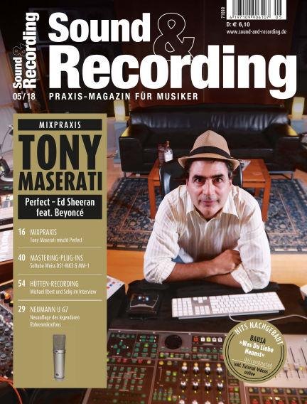 Sound & Recording May 12, 2018 00:00